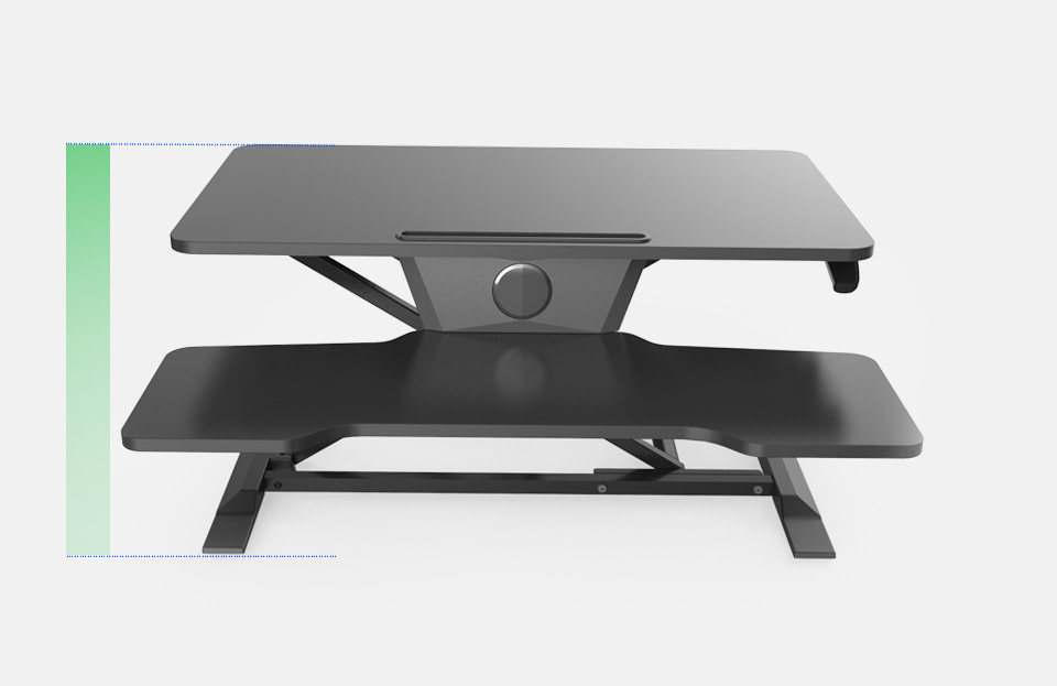 Sit Stand Desk - New Generation - Black